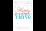 Les gabarits Happy Everything pour votre prochain projet Cartes Et Articles D'Artisanat Imprimables - gabarit prédéfini. <br/>Utilisez notre logiciel Avery Design & Print Online pour personnaliser facilement la conception.