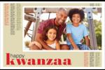 Les gabarits Kwanzaa pour votre prochain projet des Fêtes Cartes de souhaits pliées en deux - gabarit prédéfini. <br/>Utilisez notre logiciel Avery Design & Print Online pour personnaliser facilement la conception.