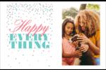 Les gabarits Happy Everything pour votre prochain projet Cartes de souhaits pliées en deux - gabarit prédéfini. <br/>Utilisez notre logiciel Avery Design & Print Online pour personnaliser facilement la conception.