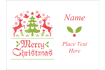 Bring holiday cheer to custom projects with pre-designed Folk Art templates.