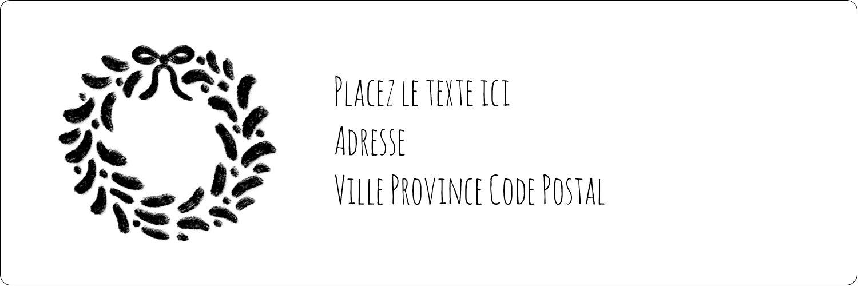 """8½"""" x 11"""" Intercalaires / Onglets - Guirlande sur tableau noir"""