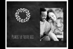 Guirlande sur tableau noir Cartes Et Articles D'Artisanat Imprimables - gabarit prédéfini. <br/>Utilisez notre logiciel Avery Design & Print Online pour personnaliser facilement la conception.