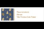 Motif HanouNoël Intercalaires / Onglets - gabarit prédéfini. <br/>Utilisez notre logiciel Avery Design & Print Online pour personnaliser facilement la conception.
