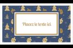 Motif HanouNoël Carte d'affaire - gabarit prédéfini. <br/>Utilisez notre logiciel Avery Design & Print Online pour personnaliser facilement la conception.