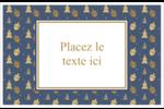 Motif HanouNoël Cartes de souhaits pliées en deux - gabarit prédéfini. <br/>Utilisez notre logiciel Avery Design & Print Online pour personnaliser facilement la conception.