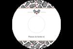 Fleurs de Noël Étiquettes de classement - gabarit prédéfini. <br/>Utilisez notre logiciel Avery Design & Print Online pour personnaliser facilement la conception.
