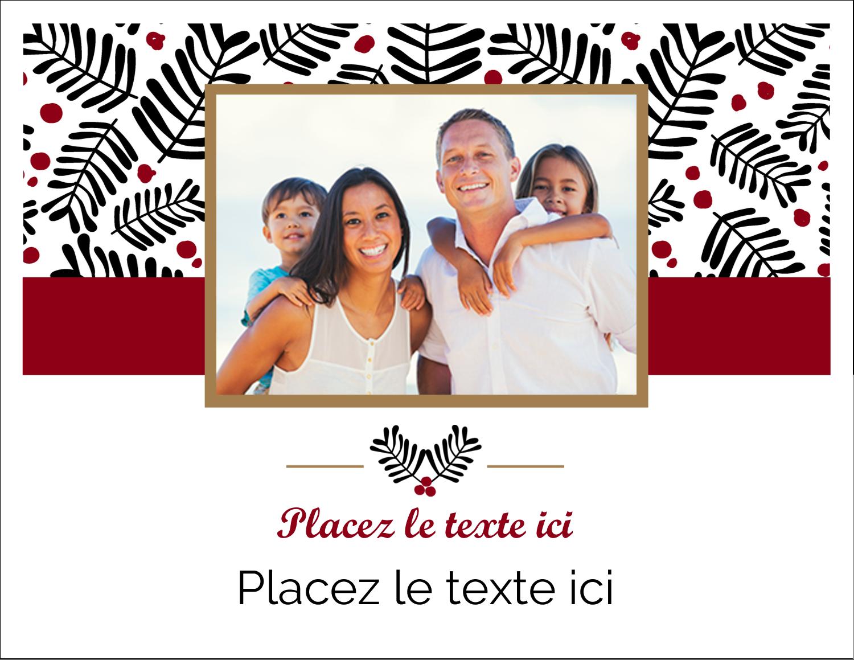 """8½"""" x 11"""" Cartes Et Articles D'Artisanat Imprimables - Fleurs de Noël"""