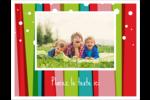Rayures de Noël rétro Cartes Et Articles D'Artisanat Imprimables - gabarit prédéfini. <br/>Utilisez notre logiciel Avery Design & Print Online pour personnaliser facilement la conception.