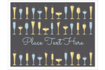 For projects with a celebratory theme, consider pre-designed Drink Glasses templates.