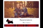 Terrier écossais Cartes Et Articles D'Artisanat Imprimables - gabarit prédéfini. <br/>Utilisez notre logiciel Avery Design & Print Online pour personnaliser facilement la conception.
