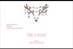 Lumières sur panache de renne Étiquettes d'adresse - gabarit prédéfini. <br/>Utilisez notre logiciel Avery Design & Print Online pour personnaliser facilement la conception.