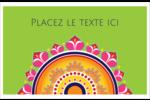 Rangolis Divali Cartes de souhaits pliées en deux - gabarit prédéfini. <br/>Utilisez notre logiciel Avery Design & Print Online pour personnaliser facilement la conception.