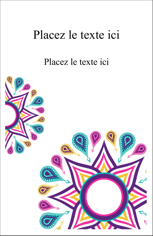"""8½"""" x 5"""" Cartes Et Articles D'Artisanat Imprimables - Ruban Divali"""