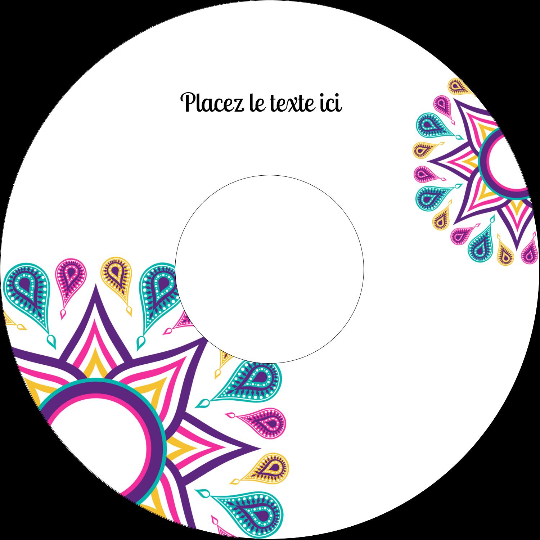 CD/DVD Étiquettes Pour Médias - Ruban Divali