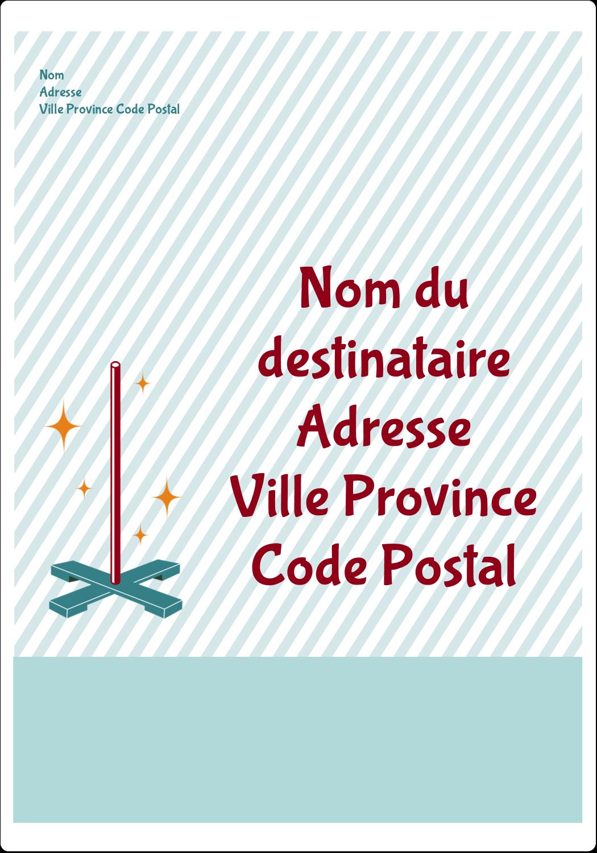 Les gabarits Festivus pour votre prochain projet Étiquettes D'Adresse - gabarit prédéfini. <br/>Utilisez notre logiciel Avery Design & Print Online pour personnaliser facilement la conception.