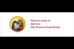 Les gabarits Enfant Jésus pour votre prochain projet des Fêtes Intercalaires / Onglets - gabarit prédéfini. <br/>Utilisez notre logiciel Avery Design & Print Online pour personnaliser facilement la conception.