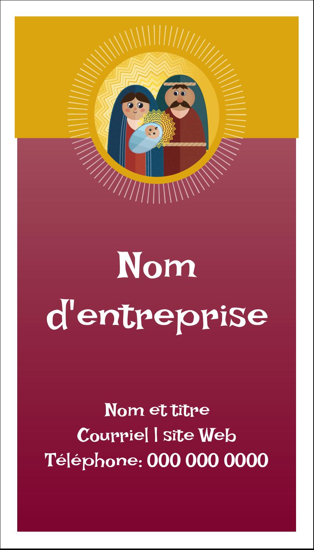 """2"""" x 3½"""" Carte d'affaire - Les gabarits Enfant Jésus pour votre prochain projet des Fêtes"""