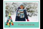 Sapin de Noël en kaléidoscope Cartes Et Articles D'Artisanat Imprimables - gabarit prédéfini. <br/>Utilisez notre logiciel Avery Design & Print Online pour personnaliser facilement la conception.