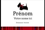 Terrier écossais Badges - gabarit prédéfini. <br/>Utilisez notre logiciel Avery Design & Print Online pour personnaliser facilement la conception.