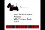 Terrier écossais Étiquettes D'Adresse - gabarit prédéfini. <br/>Utilisez notre logiciel Avery Design & Print Online pour personnaliser facilement la conception.