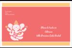 Ganesh Divali  Étiquettes d'expédition - gabarit prédéfini. <br/>Utilisez notre logiciel Avery Design & Print Online pour personnaliser facilement la conception.