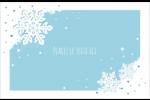 Les gabarits Flocons de neige découpés pour votre prochain projet Cartes de souhaits pliées en deux - gabarit prédéfini. <br/>Utilisez notre logiciel Avery Design & Print Online pour personnaliser facilement la conception.