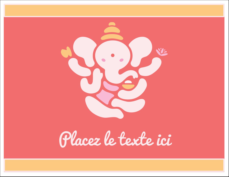 """8½"""" x 11"""" Cartes Et Articles D'Artisanat Imprimables - Ganesh Divali"""