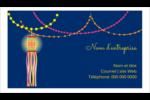 Lanternes Divali Carte d'affaire - gabarit prédéfini. <br/>Utilisez notre logiciel Avery Design & Print Online pour personnaliser facilement la conception.