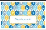 Toupie de Hanoukka Cartes de souhaits pliées en deux - gabarit prédéfini. <br/>Utilisez notre logiciel Avery Design & Print Online pour personnaliser facilement la conception.