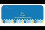 Toupie de Hanoukka Étiquettes de classement écologiques - gabarit prédéfini. <br/>Utilisez notre logiciel Avery Design & Print Online pour personnaliser facilement la conception.