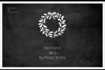 Guirlande sur tableau noir Étiquettes d'expédition - gabarit prédéfini. <br/>Utilisez notre logiciel Avery Design & Print Online pour personnaliser facilement la conception.