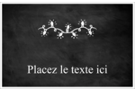 Lumières sur tableau noir Cartes de souhaits pliées en deux - gabarit prédéfini. <br/>Utilisez notre logiciel Avery Design & Print Online pour personnaliser facilement la conception.