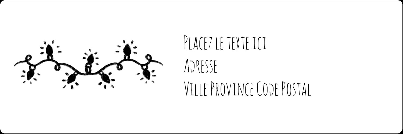 """8½"""" x 11"""" Intercalaires / Onglets - Lumières sur tableau noir"""