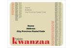 Customize personal or professional projects with pre-designed Kwanzaa templates.
