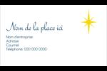 Étoile de Bethléem Carte d'affaire - gabarit prédéfini. <br/>Utilisez notre logiciel Avery Design & Print Online pour personnaliser facilement la conception.