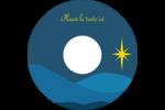 Étoile de Bethléem Étiquettes Pour Médias - gabarit prédéfini. <br/>Utilisez notre logiciel Avery Design & Print Online pour personnaliser facilement la conception.