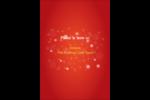 Petits flocons de neige Étiquettes D'Adresse - gabarit prédéfini. <br/>Utilisez notre logiciel Avery Design & Print Online pour personnaliser facilement la conception.