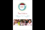 Père Noël Reliures - gabarit prédéfini. <br/>Utilisez notre logiciel Avery Design & Print Online pour personnaliser facilement la conception.