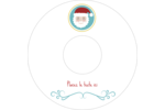 Père Noël Étiquettes de classement - gabarit prédéfini. <br/>Utilisez notre logiciel Avery Design & Print Online pour personnaliser facilement la conception.