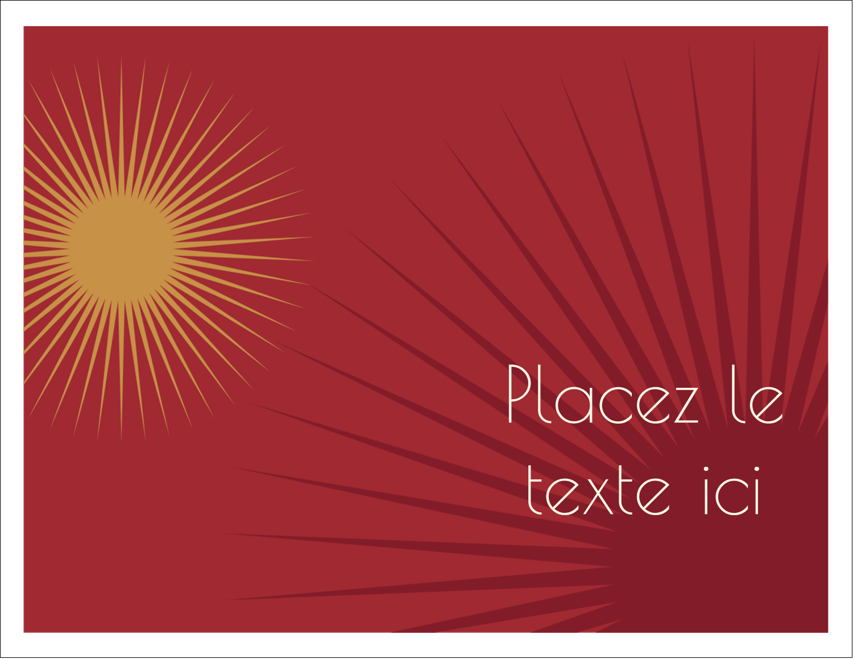 """8½"""" x 11"""" Cartes Et Articles D'Artisanat Imprimables - Soleils du Nouvel An"""