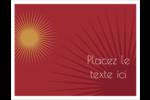 Soleils du Nouvel An Cartes Et Articles D'Artisanat Imprimables - gabarit prédéfini. <br/>Utilisez notre logiciel Avery Design & Print Online pour personnaliser facilement la conception.