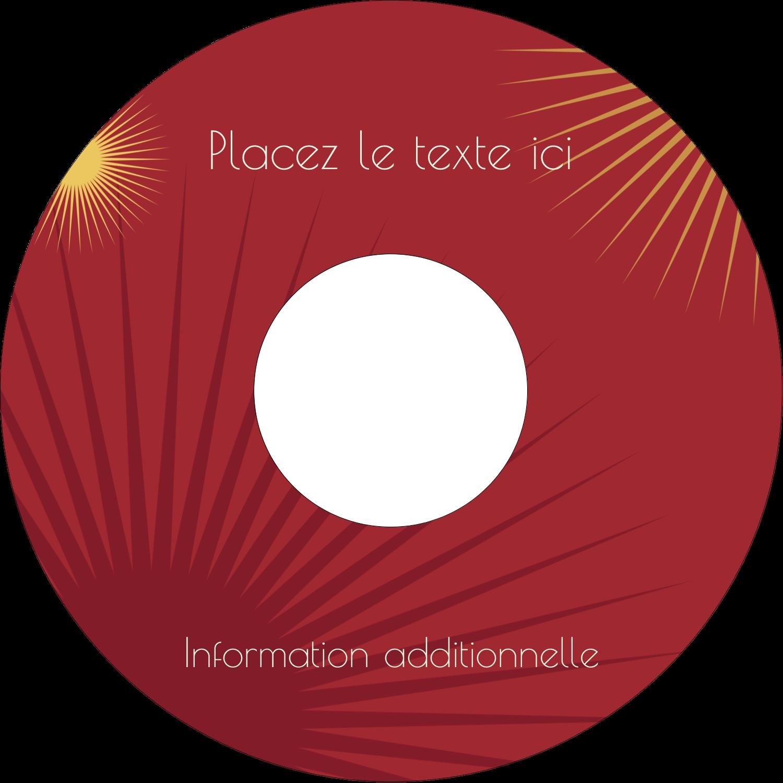 """⅔"""" x 3-7/16"""" Étiquettes de classement - Soleils du Nouvel An"""