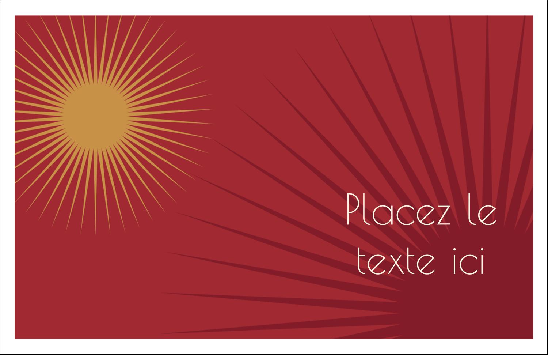"""5½"""" x 8½"""" Cartes de souhaits pliées en deux - Soleils du Nouvel An"""