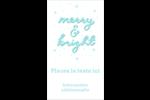 « Merry and Bright » écrit à la main Carte d'affaire - gabarit prédéfini. <br/>Utilisez notre logiciel Avery Design & Print Online pour personnaliser facilement la conception.