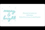 « Merry and Bright » écrit à la main Étiquettes de classement écologiques - gabarit prédéfini. <br/>Utilisez notre logiciel Avery Design & Print Online pour personnaliser facilement la conception.