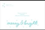 « Merry and Bright » écrit à la main Étiquettes d'expédition - gabarit prédéfini. <br/>Utilisez notre logiciel Avery Design & Print Online pour personnaliser facilement la conception.