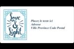 « Love and Light » écrit à la main Étiquettes de classement écologiques - gabarit prédéfini. <br/>Utilisez notre logiciel Avery Design & Print Online pour personnaliser facilement la conception.