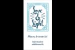 « Love and Light » écrit à la main Carte d'affaire - gabarit prédéfini. <br/>Utilisez notre logiciel Avery Design & Print Online pour personnaliser facilement la conception.