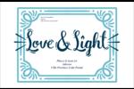 « Love and Light » écrit à la main Étiquettes d'expédition - gabarit prédéfini. <br/>Utilisez notre logiciel Avery Design & Print Online pour personnaliser facilement la conception.