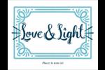 « Love and Light » écrit à la main Cartes Et Articles D'Artisanat Imprimables - gabarit prédéfini. <br/>Utilisez notre logiciel Avery Design & Print Online pour personnaliser facilement la conception.